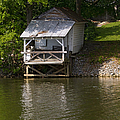 Coosa River Fishing Hut   #9548 by J L Woody Wooden
