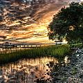 Coosaw Plantation Sunset by Scott Hansen