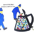 Cop-ketteling Crowd Controll by MERLIN Vernon