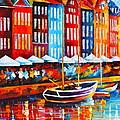 Copenhagen Denmark 2 by Leonid Afremov