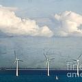 Copenhagen Wind Turbines by Joan McCool