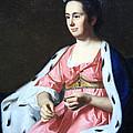 Copley's Abigail Smith Babcock Or Mrs. Adam Babcock by Cora Wandel