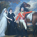Copley's Colonel William Fitch And His Sisters Sarah And Ann Fitch by Cora Wandel