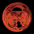 Copper Disk Abstract by Judi Suni Hall
