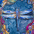 Copper Dragonfly by Patricia Allingham Carlson