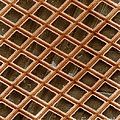 Copper Electron Micrograph Grid by David M. Phillips