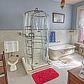 Copper King Victorian Bathroom - Butte Montana by Daniel Hagerman