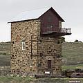 Copper Mine Enginehouse by Linda Lees