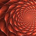 Copper Spiral Vortex by Doug Morgan