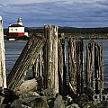 Coquille Lighthouse Oregon 3 by Bob Christopher