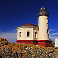 Coquille River Lighthouse by Mark Kiver