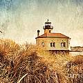Coquille River Lighthouse - Texture by Scott Pellegrin