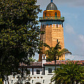 Coral Gables House And Water Tower by Ed Gleichman