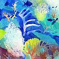Coral Reef Dreams 3 by Pauline Walsh Jacobson