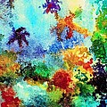Coral Reef Impression 13 by Hazel Holland