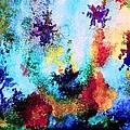 Coral Reef Impression 14 by Hazel Holland