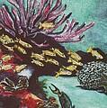 Coral Reef by Karen j Kobrin Cohen