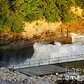 Coralville Dam At Capacity by Deb Schense