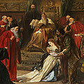 Cordelia In The Court Of King Lear, 1873 by Sir John Gilbert