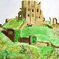Corfe Castle by Denise Railey