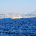 Corfu Channel Lighthouse by George Katechis
