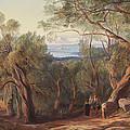 Corfu From Santa Decca by Edward Lear
