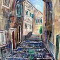 Corfu The Old Town . by Xanthie Zervou