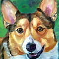Corgi Smile by Lyn Cook