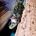 Corinth Canal Greece by John Malone