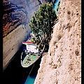 Corinth Canal Poster by John Malone