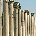 Corinthian Columns In Turkey by Sabrina L Ryan