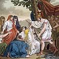 Coriolanus And His Mother Volumnia by Jacques Grasset de Saint-Sauveur
