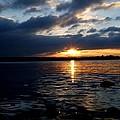 Cork Harbour Sunset by John Murphy