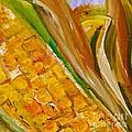 Corn In The Husk by Eloise Schneider Mote