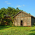 Corncrib In Afternoon Light by Nikolyn McDonald