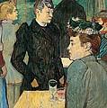 Corner Of Moulin De La Galette by Henri de Toulouse Lautrec