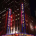 Corner Of Radio City Music Hall by Deborah Benbrook