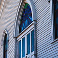 Cornish Memorial Church Doorway by Ed Gleichman