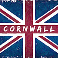 Cornwall Distressed Union Jack Flag by Mark E Tisdale