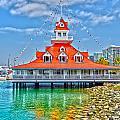 Coronado Boat House by Baywest Imaging