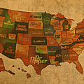 Corporate America Map by Design Turnpike