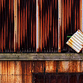 Corrugated Steel Mill Wall Alton Il by Greg Kluempers