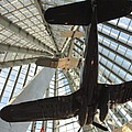 Corsairs In The National Marine Corps Museum In Triangle Virginia by William Kuta