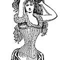 Corset Advertisement  1897 by Daniel Hagerman