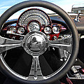 Corvette C1 - In The Driver's Seat by Gill Billington