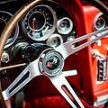 Corvette Steering Wheel by David Morefield
