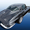 Corvette Stingray 1966 by Gill Billington