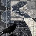 Corvus Star Chart by Carol Leigh