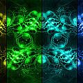 Cosmic Alien Eyes Pride by Shawn Dall