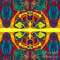 Cosmic Designs Abstract Pattern Artwork by Omaste Witkowski
